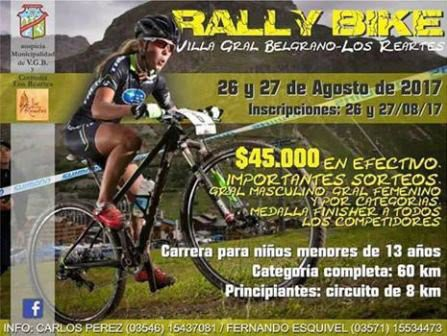 Rally Bike VGB Los Reartes